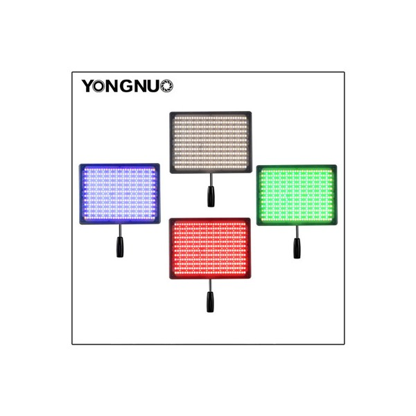 Накамерный свет светодиодный Yongnuo YN-600 RGB