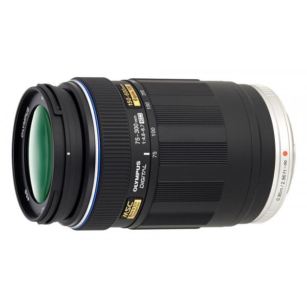 Объектив Olympus M. Zuiko Digital 75-300mm f/4.8-6.7 II, черный