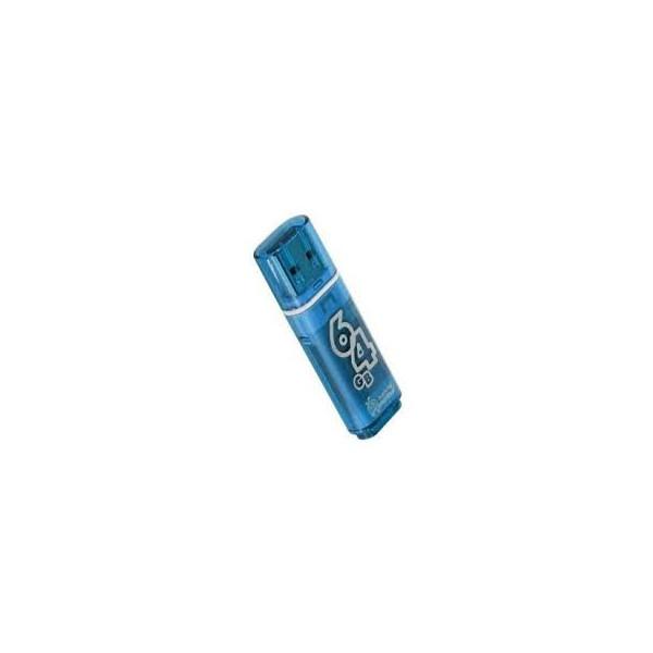 flash накопитель Smartbuy 64GB Glossy series Blue