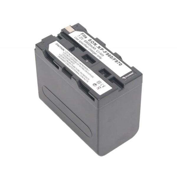 Аккумулятор FUJIMI NP-F960/970 для Sony CCD-RV, SC, TR, TRV, CRX, CVX-V, D-V, DCM-M и т.д.