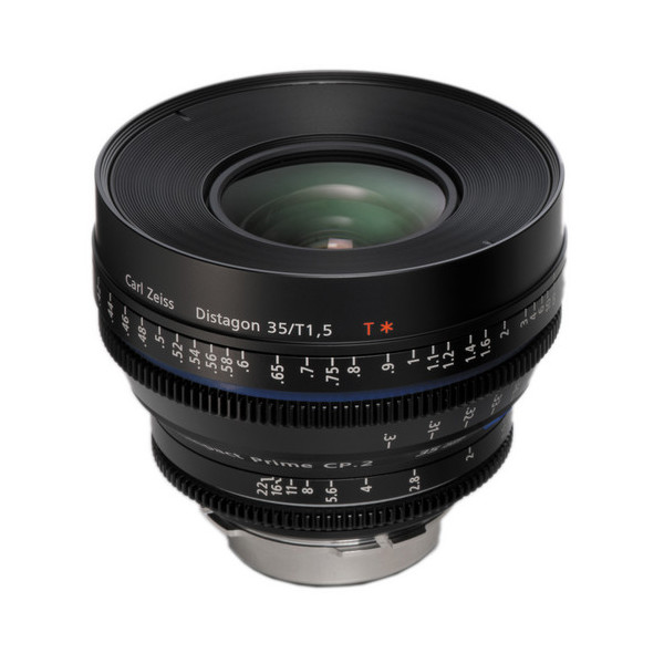 Carl Zeiss CP. 2 1.5/35 T* - metric Super Speed PL