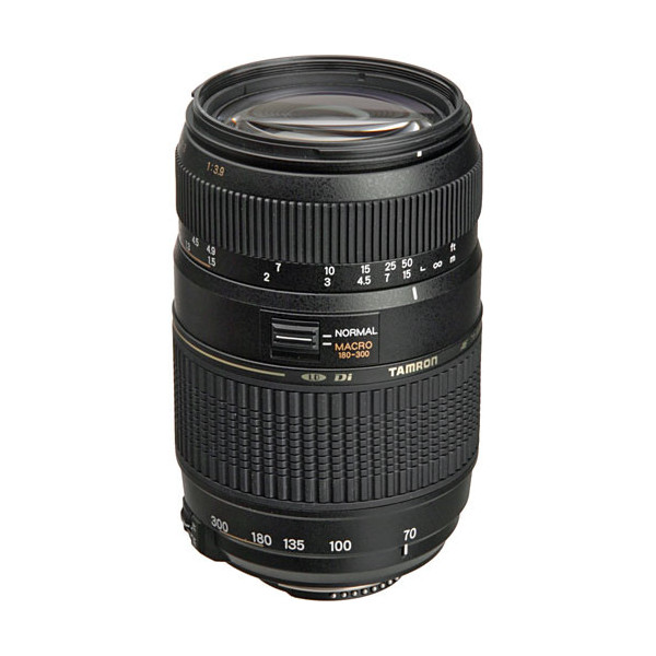 Tamron AF 70-300mm F/4-5.6 Di LD Macro 1: 2 Nikon F