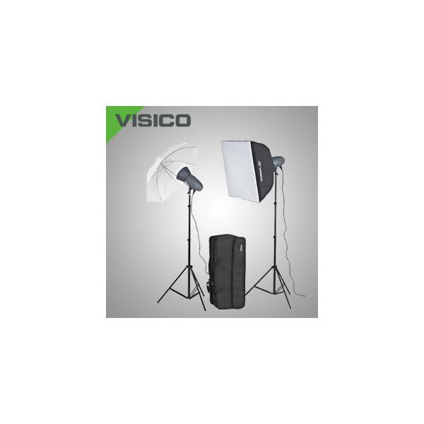 Комплект импульсного света Visico VL Plus 300 Soft Box/ Umbrella KIT