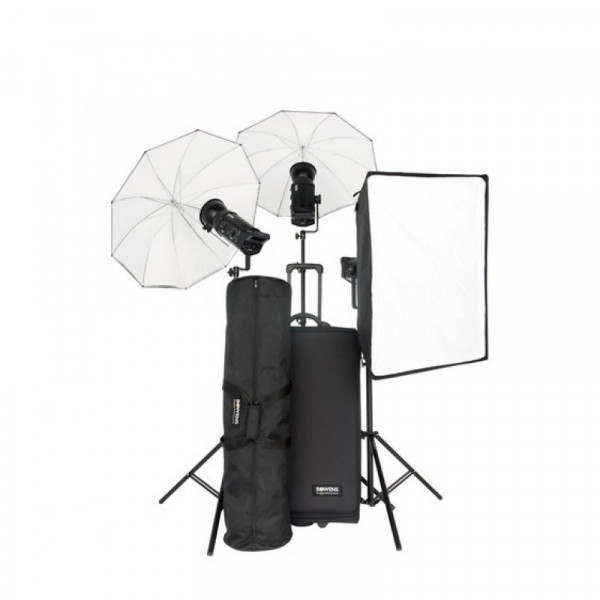Комплект импульсного света Bowens Gemini 500R/500R/500R BW-8515TXEUR