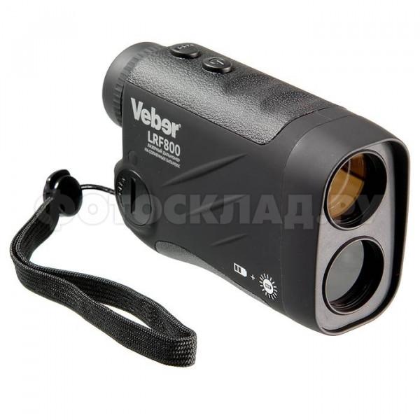 Лазерный дальномер Veber 6x25 LRF800 черный