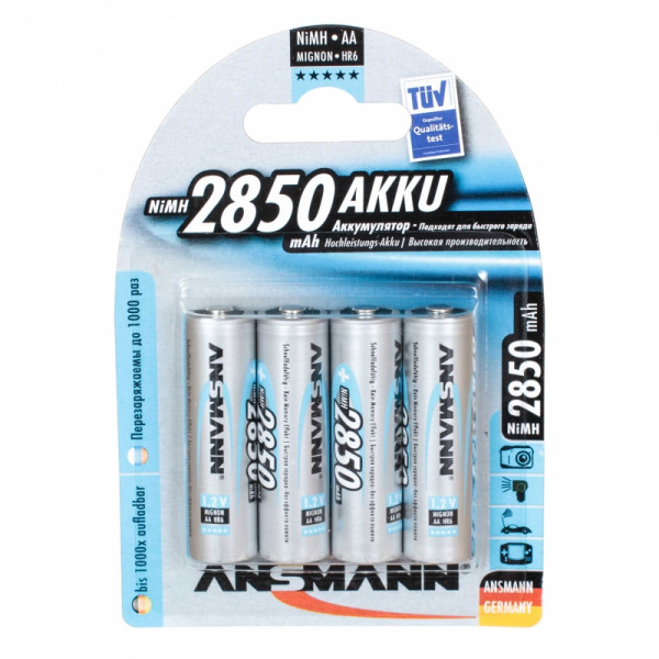 Аккумулятор ANSMANN DIGITAL AA 2850 mAh 5035092 (уп. 4 шт.)