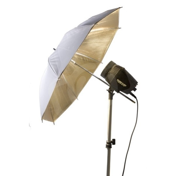 Зонт Falcon Eyes Urn-32Gw отражающий золото/белый 75 см