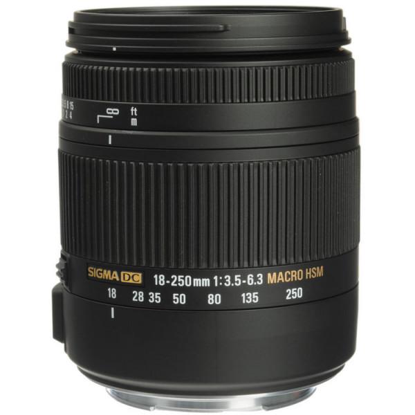 Sigma AF 18-250mm F3.5-6.3 DC Macro OS HSM Canon EF