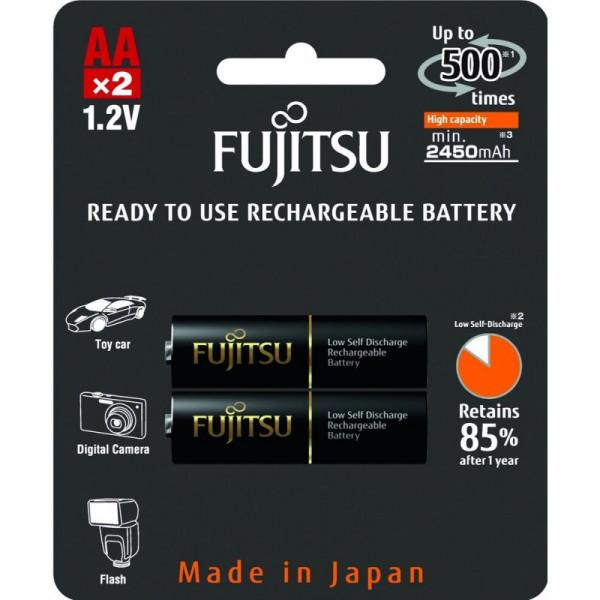 Аккумулятор Fujitsu AA 2450mAh HR-3UTHCEX(2B), 2 шт.
