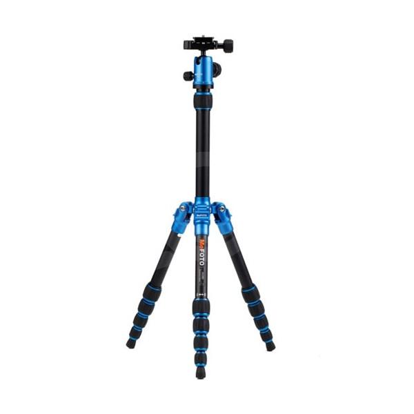 Штатив Benro A0350Q0/MeFoto алюминиевый сплав (с головой) синий
