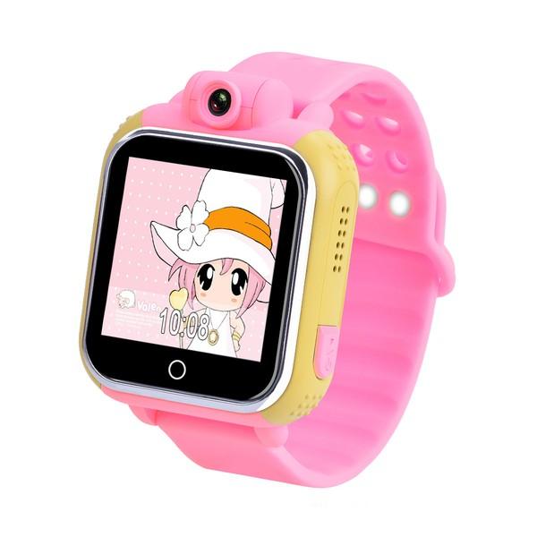Детские умные часы Smart Baby Watch Q100 (GW1000), розовые