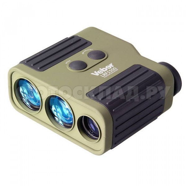 Лазерный дальномер Veber 7x25 LRF1500 зеленый