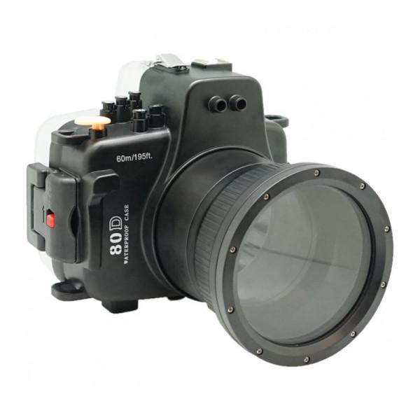 Подводный бокс Meikon 80D Kit с портом 18-135 для Canon EOS 80D EF-S 18-135