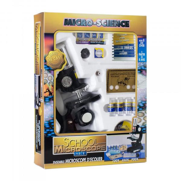 Микроскоп школьный Eastcolight 100/450/900x 47 предметов
