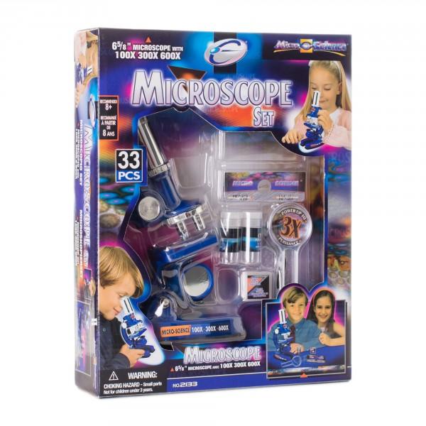 Микроскоп детский Eastcolight 100-600 33 предмета (MP-600)