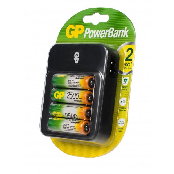 Зарядное устройство GP Power Bank PB550GS250-2CR4 (4xAA 2500 mAh)
