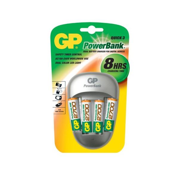 Зарядное устройство GP Power Bank GP PB27GS270-2CR4 (4xAA 2700 mAh)
