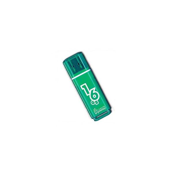 flash накопитель Smartbuy 16GB Glossy series Green