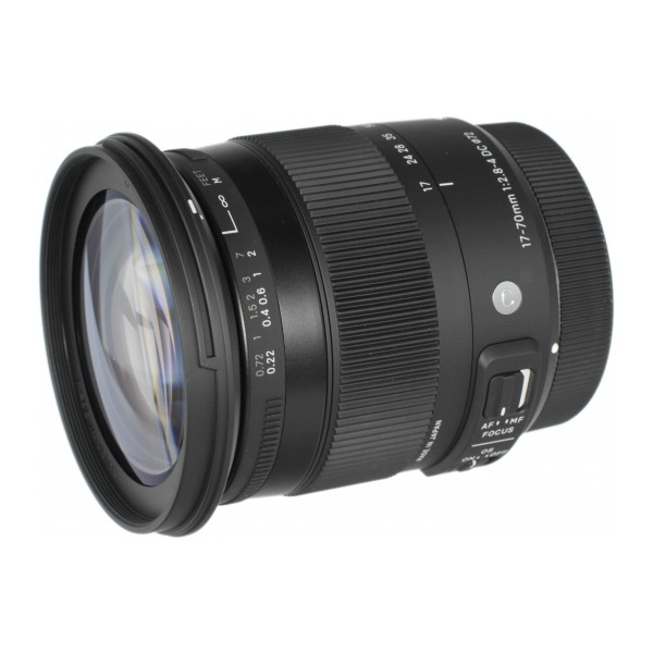 Sigma AF 17-70mm f/2.8-4 DC Macro OS HSM New Contemporary Canon EF-S