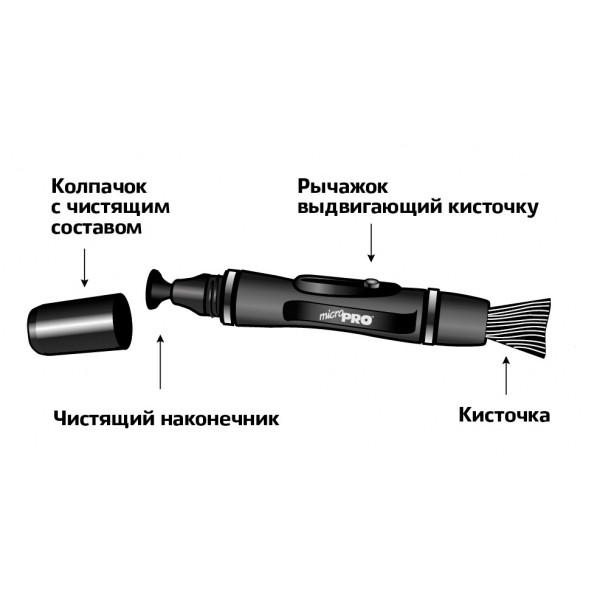 Карандаш для чистки оптики LensPen MicroPro (для компактов и телефонов)