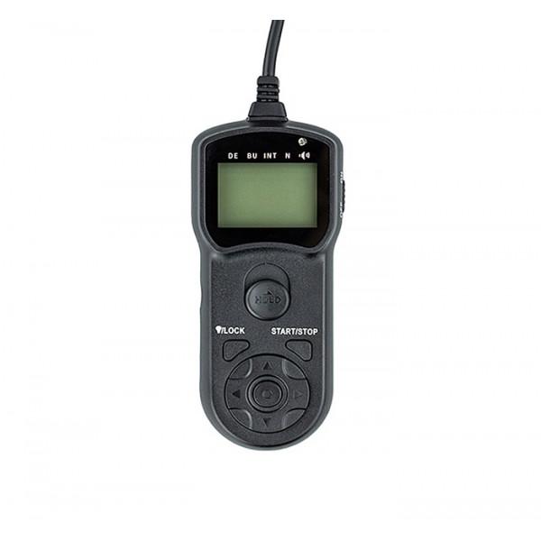 Пульт ДУ JJC (Canon RS-60E3, Pentax CS-205, Contax LA-50) с экраном, проводной
