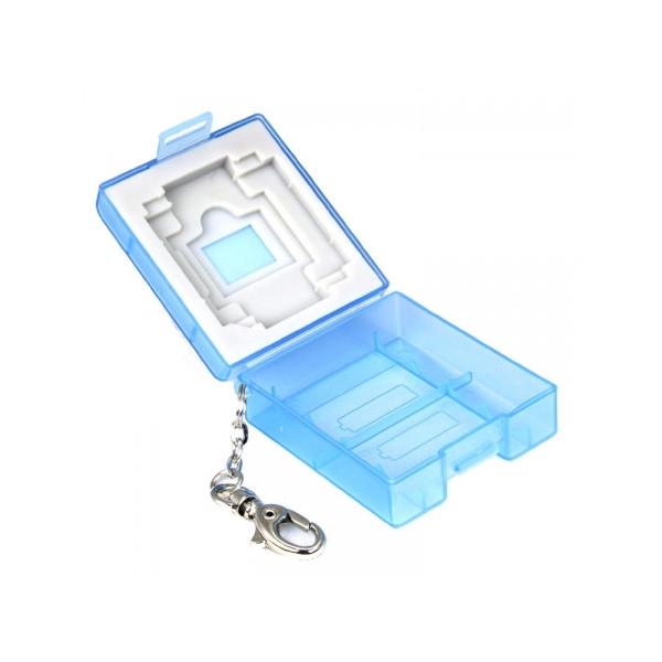 Чехол для карт памяти Matin Multi-Card Safe Mini Blue