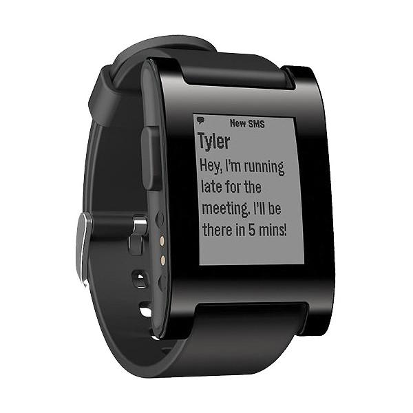 Умные часы Pebble SmartWatch, черные