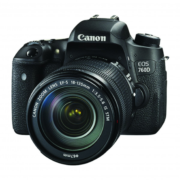 Зеркальный фотоаппарат Canon EOS 760D kit 18-55 IS STM(