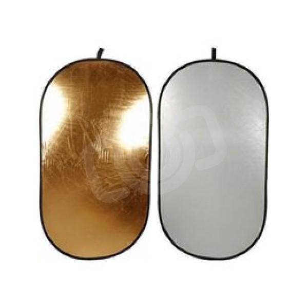 Отражатель Falcon Eyes RFR-3648G золото/белый 92x122 см