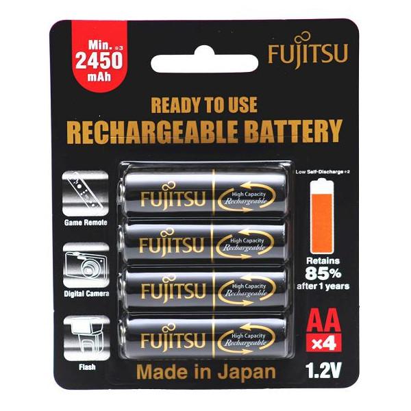Аккумулятор Fujitsu AA 2450mAh HR-3UTHCEU(4B), 4 шт.