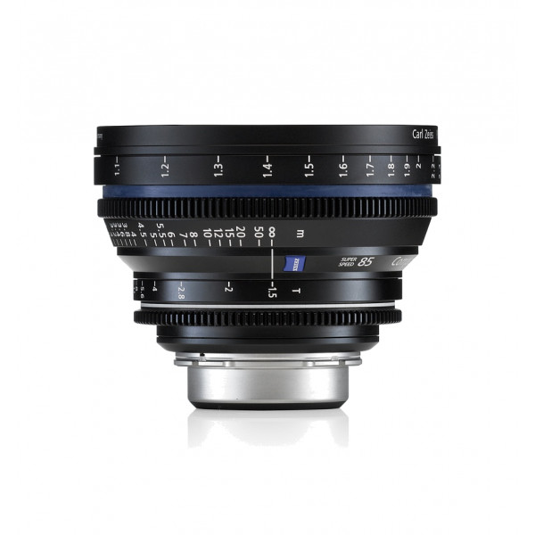 Carl Zeiss CP. 2 1.5/85 T* - metric Super Speed EF