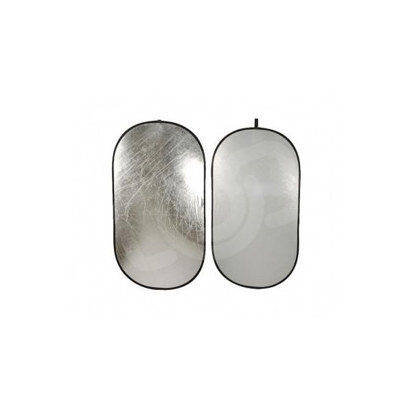 Отражатель Falcon Eyes RFR-3648S серебро/белый 92x122 см