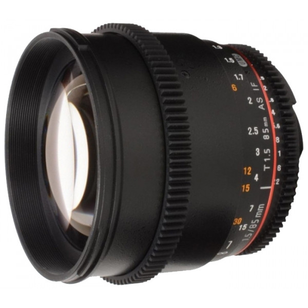 Samyang 85mm T1.5 AS IF UMC Vdslr II Canon EF