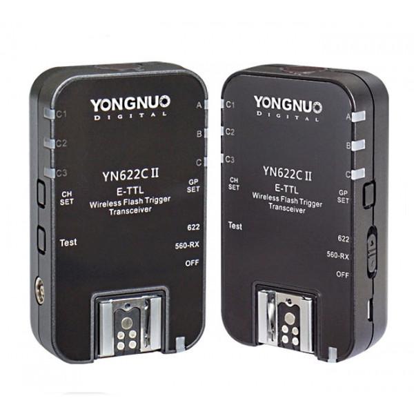 Радиосинхронизатор TTL Yongnuo YN-622C II для Canon