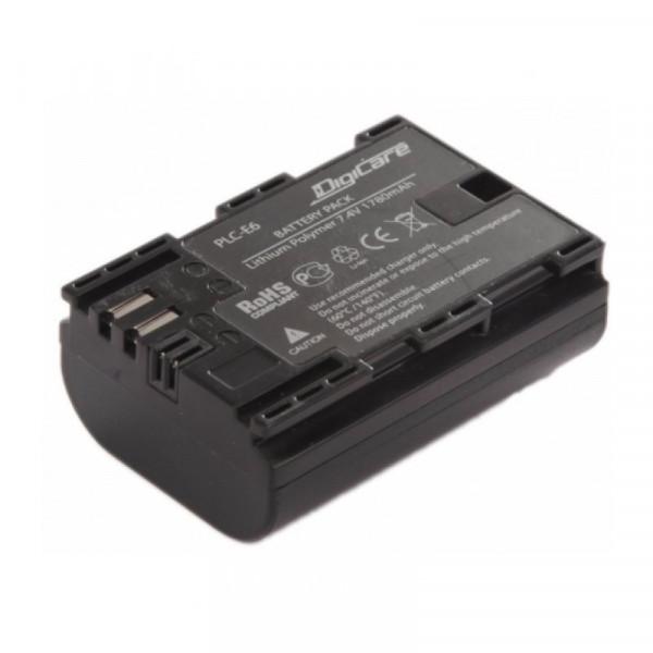 Аккумулятор DigiCare PLC-E6 (LP-E6 для EOS 6D 60D, 70D, 80D, 7D, 5D mark II, mark III)