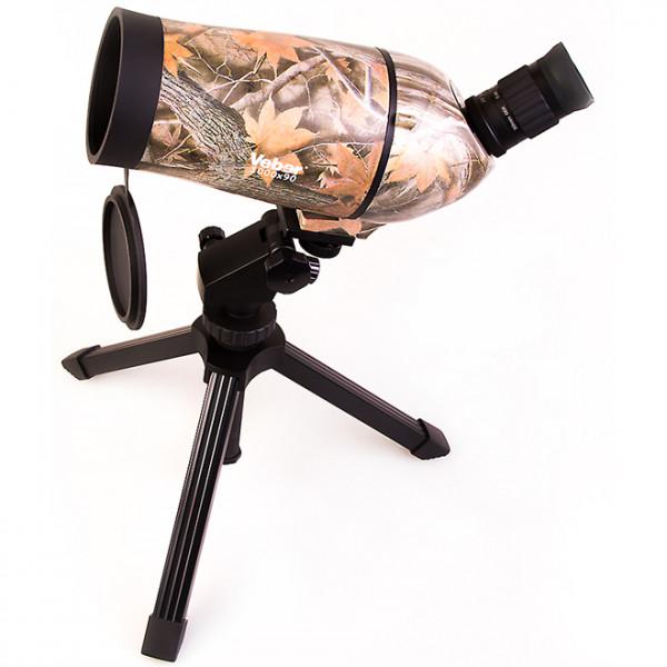 Телескоп Veber MAK 1000x90 подзорный камуфлированный