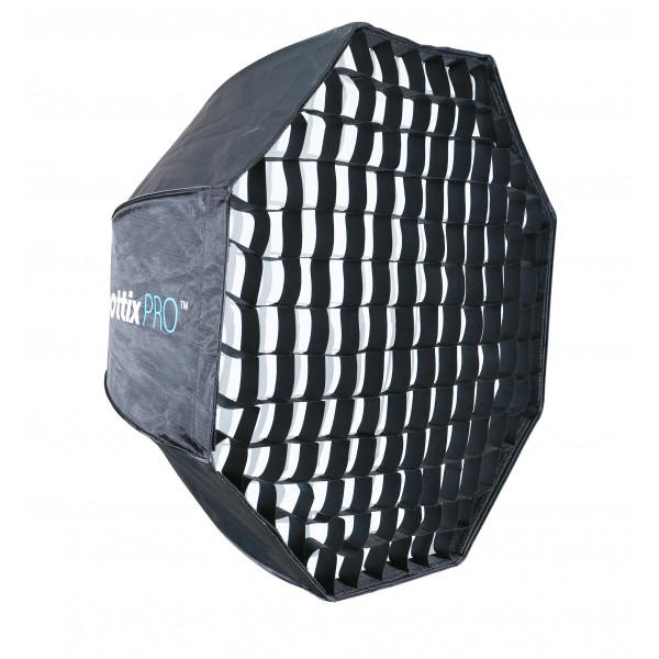 Быстроскладной октобокс Phottix Pro Easy Up HD Umbrella Octa Softbox с сотами 120 см