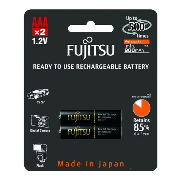 Аккумулятор Fujitsu AAA 900mAh HR-4UTHCEU(2B), 2 шт.