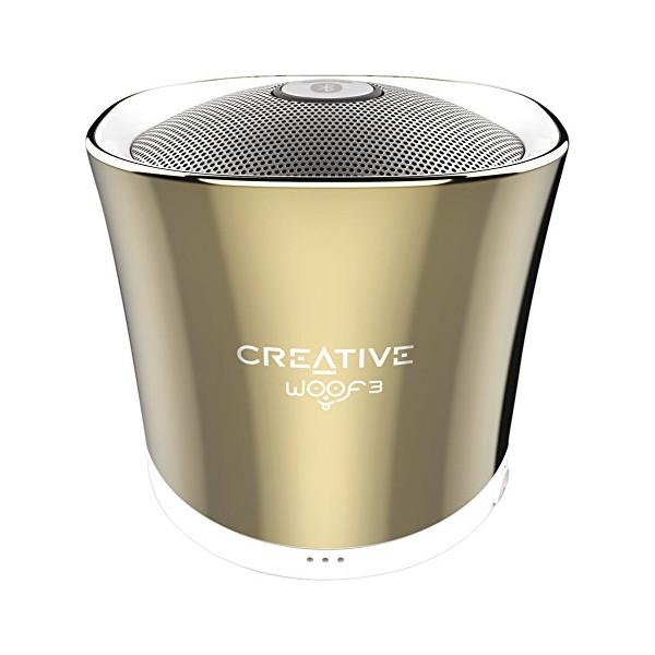 Беспроводная колонка Creative WOOF3, золотая