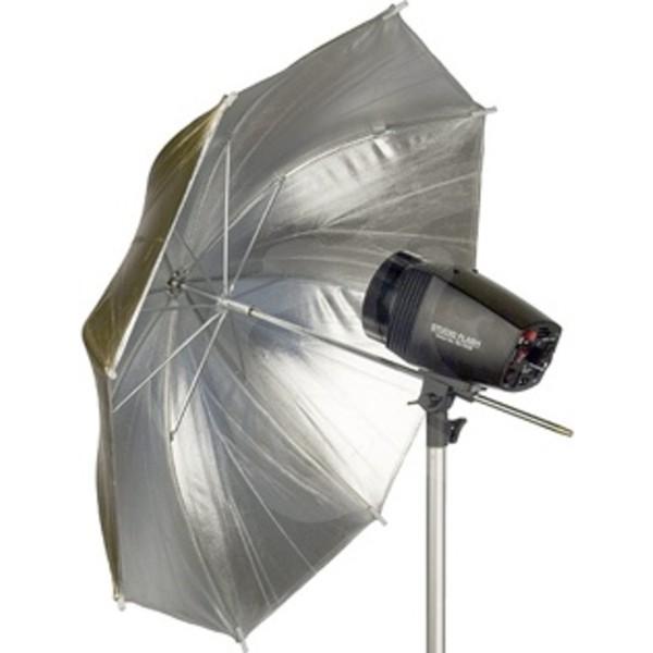 Зонт Falcon Eyes Urn-32Gs отражающий золото/серебро 75 см