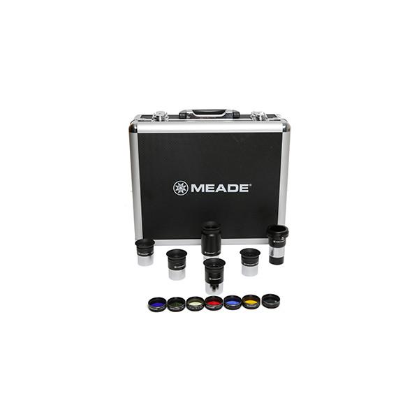 Набор для астрономических наблюдений Meade (5 окуляров Плессла и 6 фильтров) в кейсе