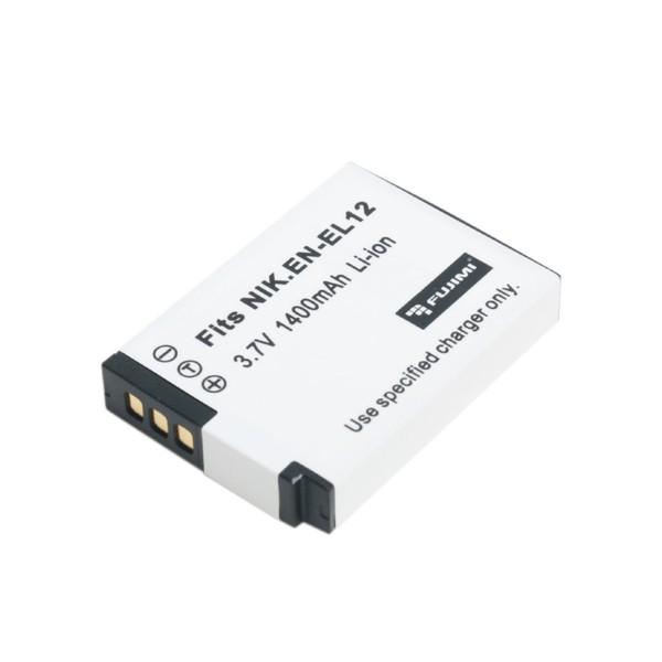 Аккумулятор Fujimi EN-EL12 для CoolPix S800c, S6200, S6300, S8200, S9300, P310, AW100