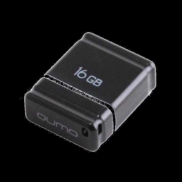 flash накопитель Qumo Nano 16GB Black