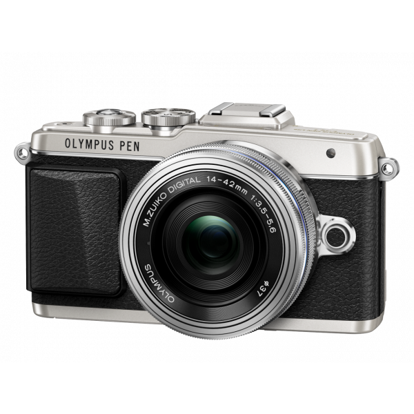 Фотоаппарат Olympus Pen E-PL7 Kit 14-42mm f/3.5-5.6 EZ, серебро