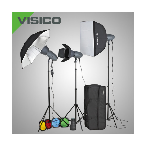 Комплект импульсного света Visico VL Plus 400 Unique KIT