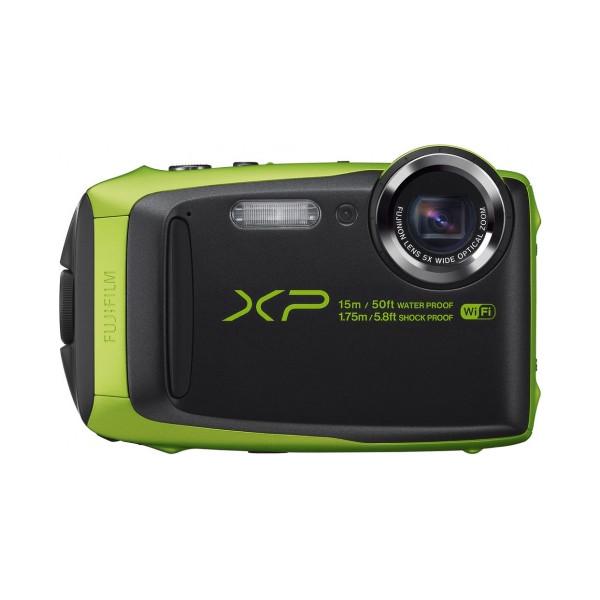Цифровой фотоаппарат Fujifilm FinePix XP90, зеленый (