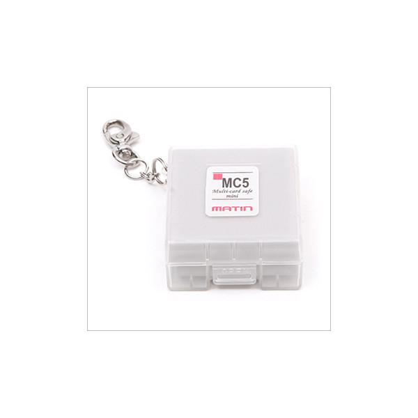 Чехол для карт памяти Matin Multi-Card Safe Mini White