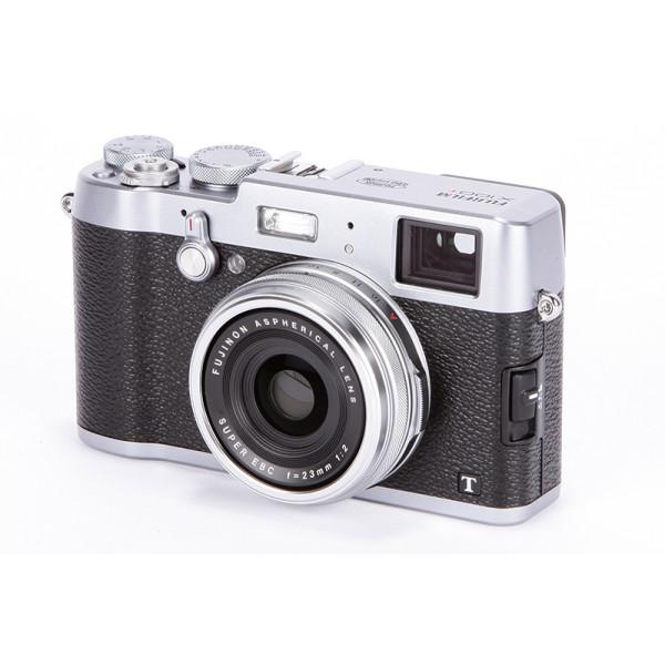 Цифровой фотоаппарат Fujifilm X100T, серебро (