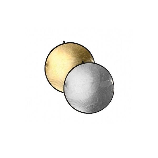 Отражатель Falcon Eyes CFR-22GS золото/серебро 56 см
