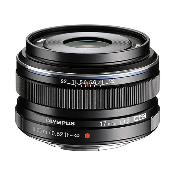 Объектив Olympus M. Zuiko Digital ED 17mm f/1.8, черный